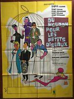 Plakat Du Mouron Für Les Kleine Vögel Dany Saval Paul Meurisse 120x160cm