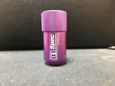 D1 Racing PURPLE SHORT Wheel Lug Nuts M12 x 1.25mm (FOR ONE LUG NUT ONLY)