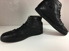 Christian Louboutin Paris Sneakers for Men Black Leather Size 47 US 14