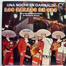 Los Gallos De Oro - Una Noche En Garibaldi LP Mint- M S 2086 Vinyl 1979 Record