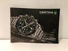Collection 2014 - Watches - English Catalogue Catalogue Certina Ds - Watches