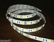 1M LED 5050 SMD (60 Led) 12V Blanco frío (Led Strip Light Cool white)