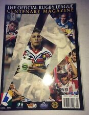 More details for rugby league official centenary magazine 1895-1995