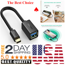 Samsung Galaxy Note 9 S8 USB A 3 0 Female to Type C Male Cable Adapter Cord OTG