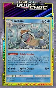 Tortank Holo Deck Promo-SL09:Duo De Choc- 25/181 - Carte Pokemon Neuve Française