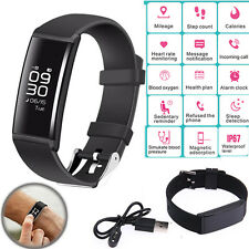 Sports Smart Watch Wristband Bracelet Heart Rate Monitor Pedometer Sleep Tracker