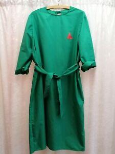 Frank n Furter Rocky Horror Show Costume Fancy Dress Green Surgical Gown