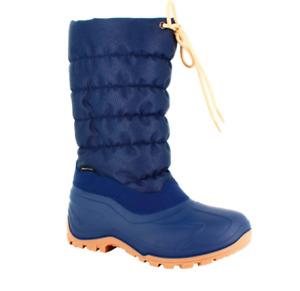 Freyling High Thermo Winterstiefel Schneestiefel wasserdicht Stiefel Blau Gr. 39