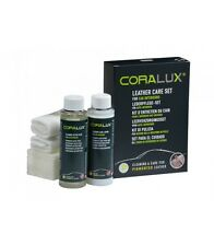 CORALUX LEATHER CARE SET Leather Cleaner Lotion Freshness Car Interior NEW
