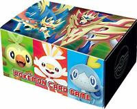 Pokemon Card S1W/S1H Original Card Box only Sword & Shield Booster Pack limited