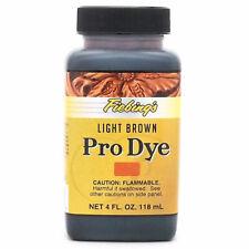Fiebing'S Professional Oil Dye Light Brown 4 Ounce U-004Z