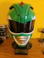Mighty Morphin Power Rangers Legacy Green Ranger  Helmet 1:1 Full size