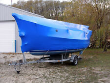 Boat, Marine, Construction Shrink Wrap 17' x 110', Protect Blue