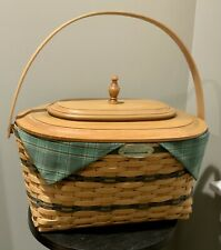Longaberger Traditions Family Combo Custom Lid Original Box