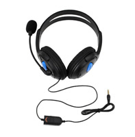 Wired Game Gaming Headset Headphones with Microphone for PS4 PC Laptop