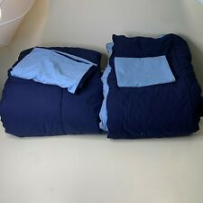 Ralph Lauren Comforter pair Set with 2 pillow shams standard color navy blue