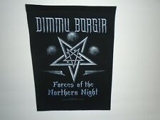 DIMMU BORGIR FORCES OF THE NORTHERN NIGHT BACK PATCH