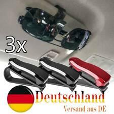 3X Auto Brillenfach Sonnenbrille Brille Halter Universal Ablagefach Clips For VW