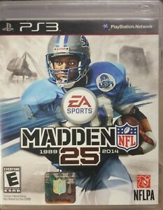 Madden NFL 25 For PlayStation 3 PS3 Football Very Good Condition