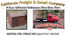 Industrial Steel Sheet Metal Storage Shed N/Nn3/1:160 California Freight Details