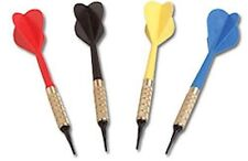 DARTS  - Bag of 100 - Black / Blue / Red / Yellow ~~NEW~~ Darts for Dart Board