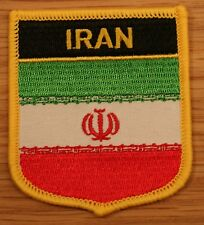 IRAN Irani Shield Country Flag Embroidered PATCH Badge P1