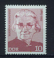 ALEMANIA/RDA EAST GERMANY 1975 MNH SC.1618 Martina Aredsee,politician