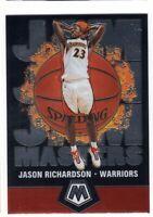 2019-2020 Panini Mosaic Basketball Jam Masters Insert Jason Richardson #10