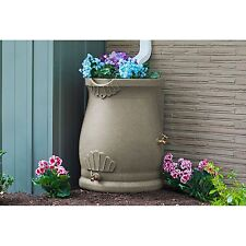 Rain Water Collection Barrel, Water Storage Containers BPA Free Rain Wizard Urn