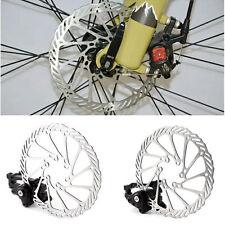 1 Pair Mountain Bike Bicycle Disk Disc Brake Caliper 160mm Rotor Front Rear