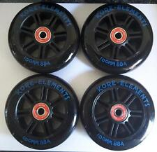 4 x KORE SCOOTER WHEELS RAZOR PRO MGP 100mm +RATED ABEC 9 BEARINGS FREE DELIVERY