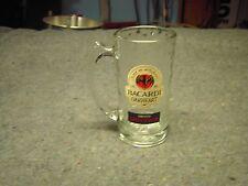 BACARDI Logo 14 ounce Glass Mug