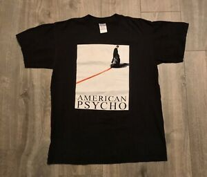 vintage american psycho shirt Promo Movie Tee Rare Grail Rap Tee