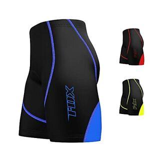 FDX Mens Cycling Shorts Breathable Anti Bac Padded MTB Biking Cycling Shorts