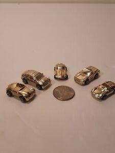 Vintage Rare Micro Machines Gold Mail Away European Set