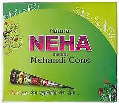 NEHA MEHENDI CONE (02 Pcs.) - Free Shipping by Ravlox