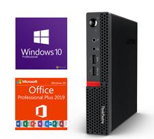 Fast Custom Lenovo Pc Wifi Windows 10 Pro 1tb Ssd 16gb Ram Mini Desktop Pc