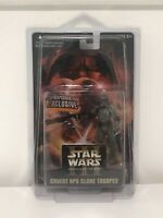 NEW with Case Star Wars ROTS Covert Ops Clone Trooper Starwarsshop.com Exclusive