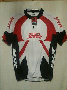 CYCLING BIKE JERSEY EXTRA LARGE  XL UNISEX NEW TAG Shirt Shimano TRX