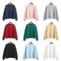 Women Long Sleeve Hoodie Sweatshirt Jumper Hooded Pullover Shirt Top Coat Blouse