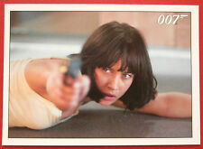 "JAMES BOND - Quantum of Solace - Card #082 - ""This Time, You Will Burn."""