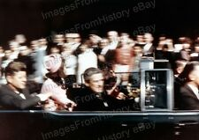8x10 Print John F Kennedy rare Snapshot day of Assassination Sep 1963 #JK03