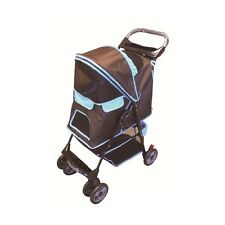 Amoroso Kennel size H24, L26, W14 6746-BROWN Pet Stroller NEW