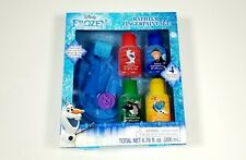 Toddler Girls Disney Frozen Bathtub Fingerpaint Set Mess Free Soap Paints. New