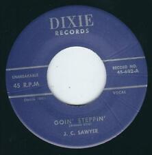 REPRO Rockabilly J.C Sawyer DIXIE 662 Goin steppin / Ray Hubbard / Sweet love ♫