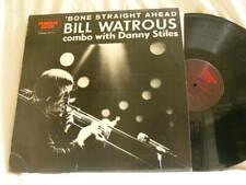 BILL WATROUS Bone Straight Ahead Al Cohn Hank Jones Steve Gadd Milt Hinton LP