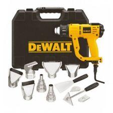 DEWALT 2000W Heat Gun Variable Temp LCD Display Kit Plus 12 Piece Accessory Kit
