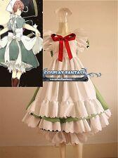 Axis Powers Hetalia APH chibi Italy Cosplay Costume Maid Dress Lolita Green