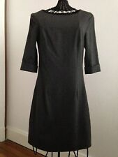 CAROLL - Robe grise taille 34 - Manches 3/4