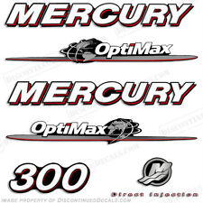 Mercury 300hp Optimax Decal Kit Replacement Decals for Outboard Motors 2007-2012
